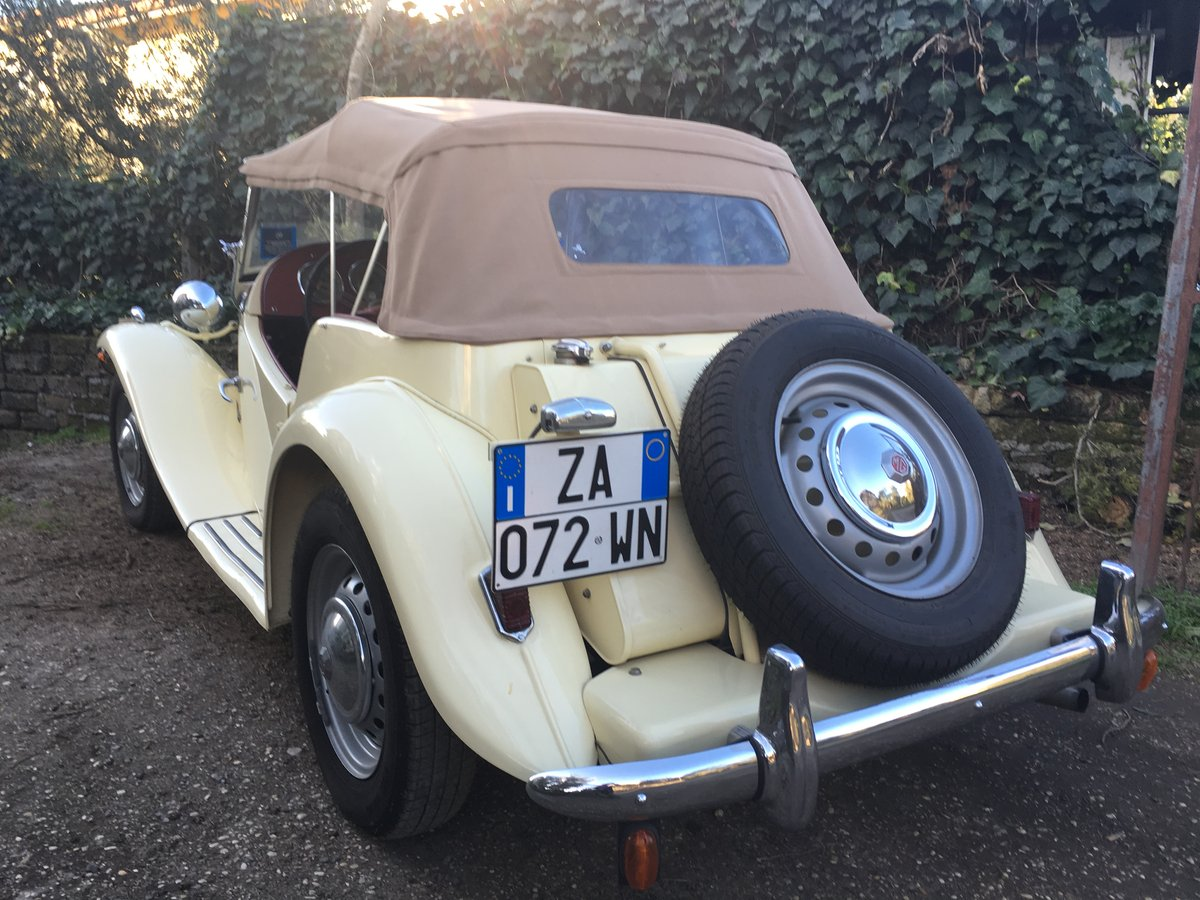 1951 mg td total and professional restoration For Sale (picture 2 of 6)