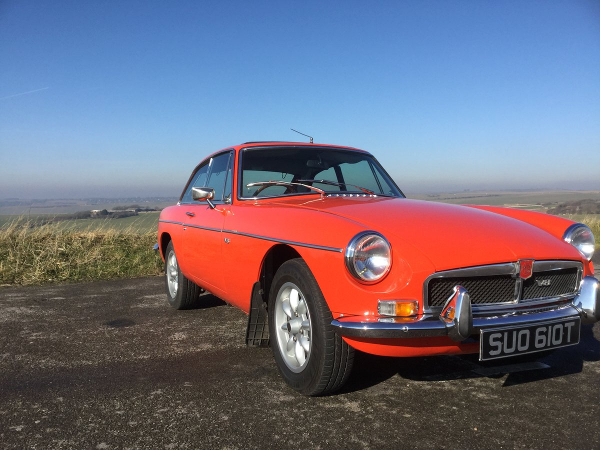 1978 Stunning MGB GT V8 (NOW SOLD) SOLD (picture 1 of 6)