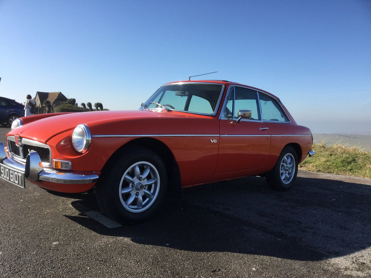 1978 Stunning MGB GT V8 (NOW SOLD) SOLD (picture 2 of 6)