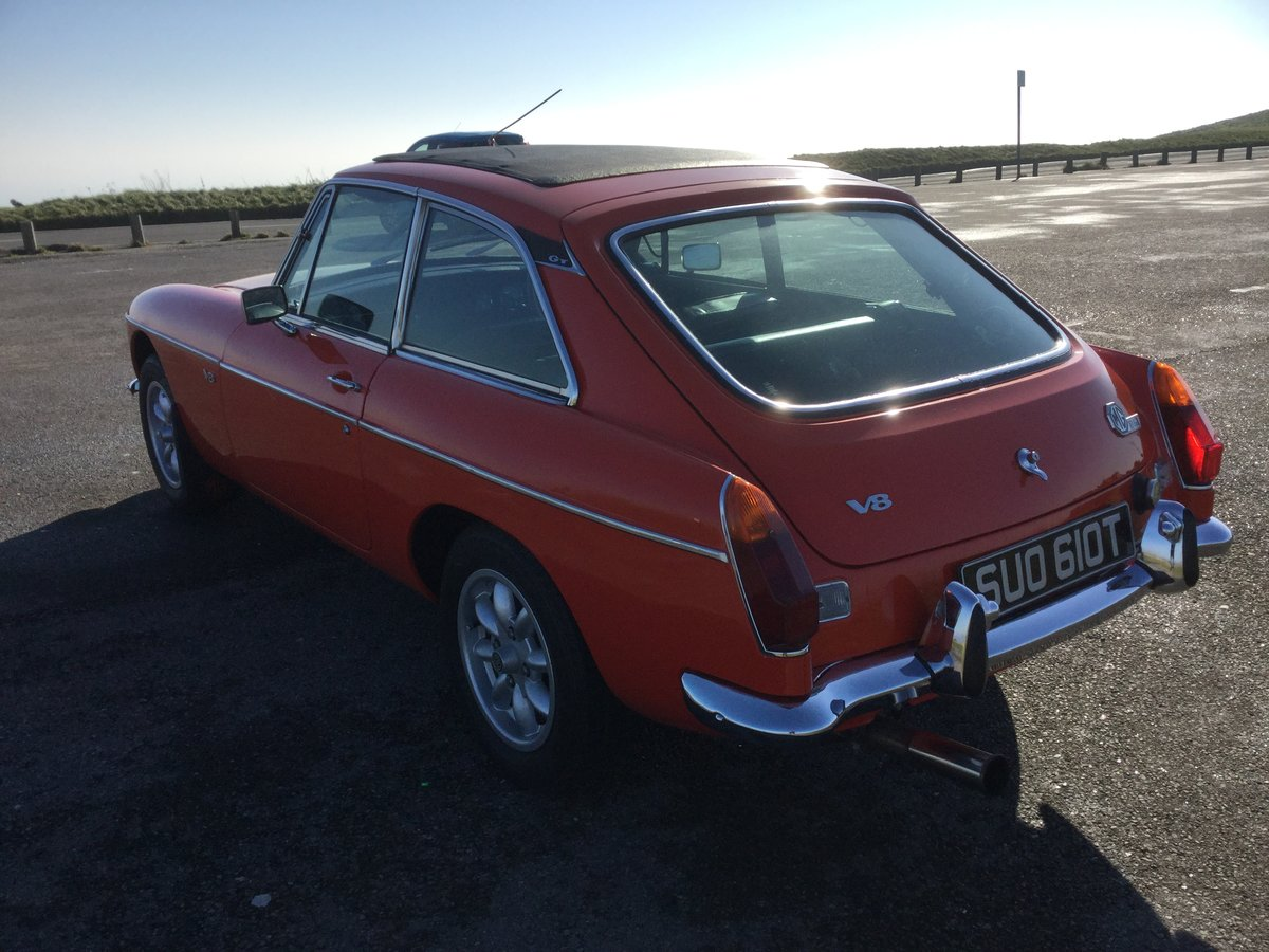 1978 Stunning MGB GT V8 (NOW SOLD) SOLD (picture 3 of 6)
