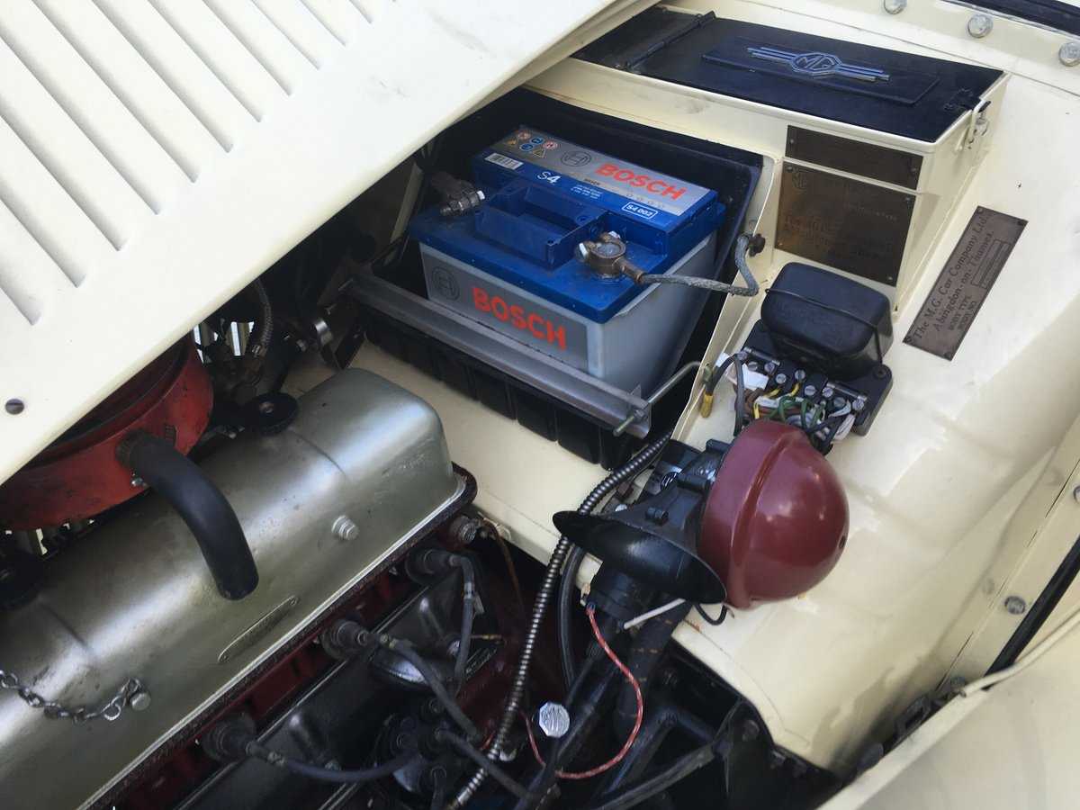 1951 mg td total and professional restoration For Sale (picture 6 of 6)