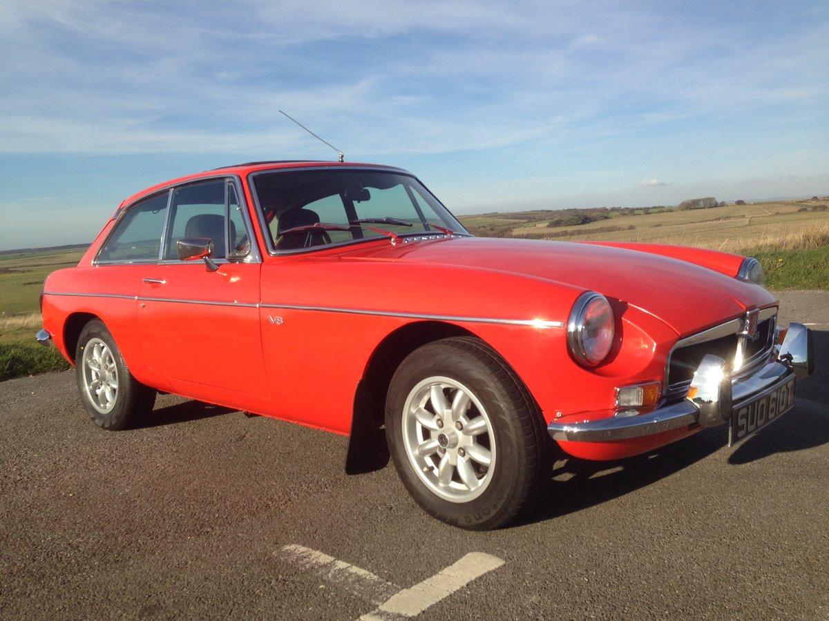 1978 Stunning MGB GT V8 (NOW SOLD) SOLD (picture 4 of 6)
