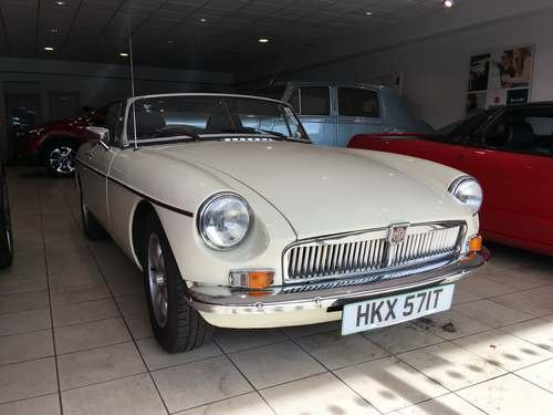 1978 MG B Convertible at Morris Leslie Auction 25th May SOLD by Auction (picture 1 of 5)