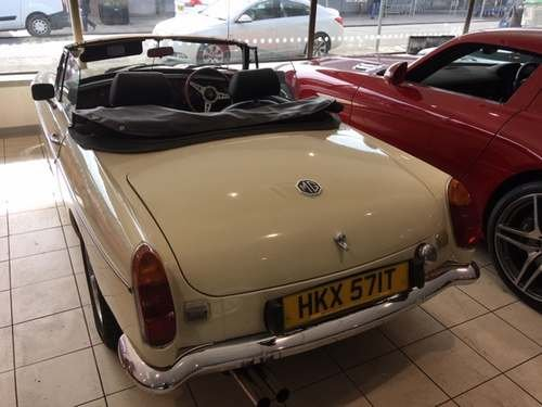 1978 MG B Convertible at Morris Leslie Auction 25th May For Sale by Auction (picture 2 of 5)