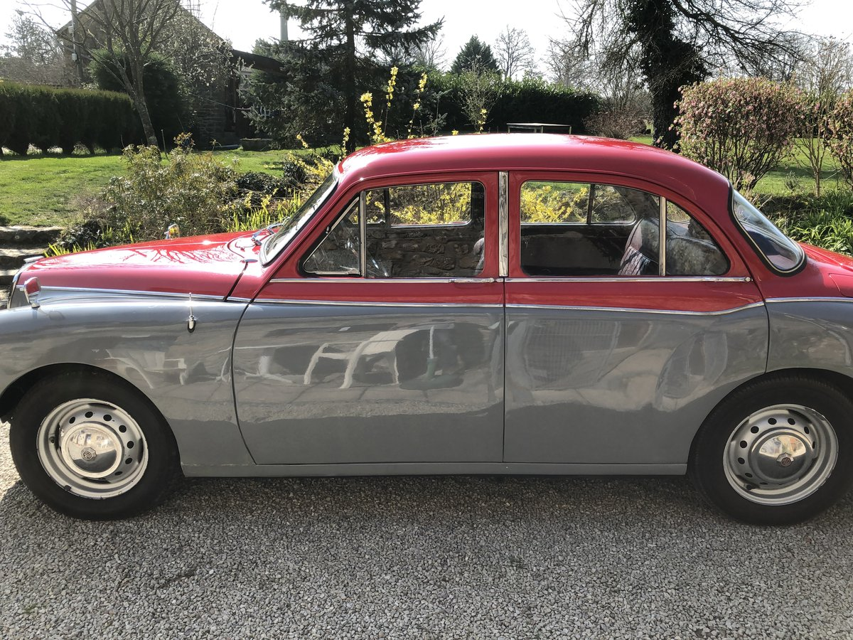 1957 MG Magnette ZB Varitone  £6,800 SOLD (picture 3 of 6)