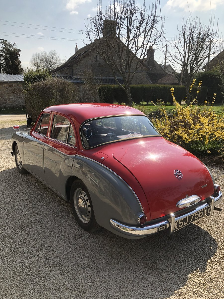 1957 MG Magnette ZB Varitone  £6,800 SOLD (picture 6 of 6)