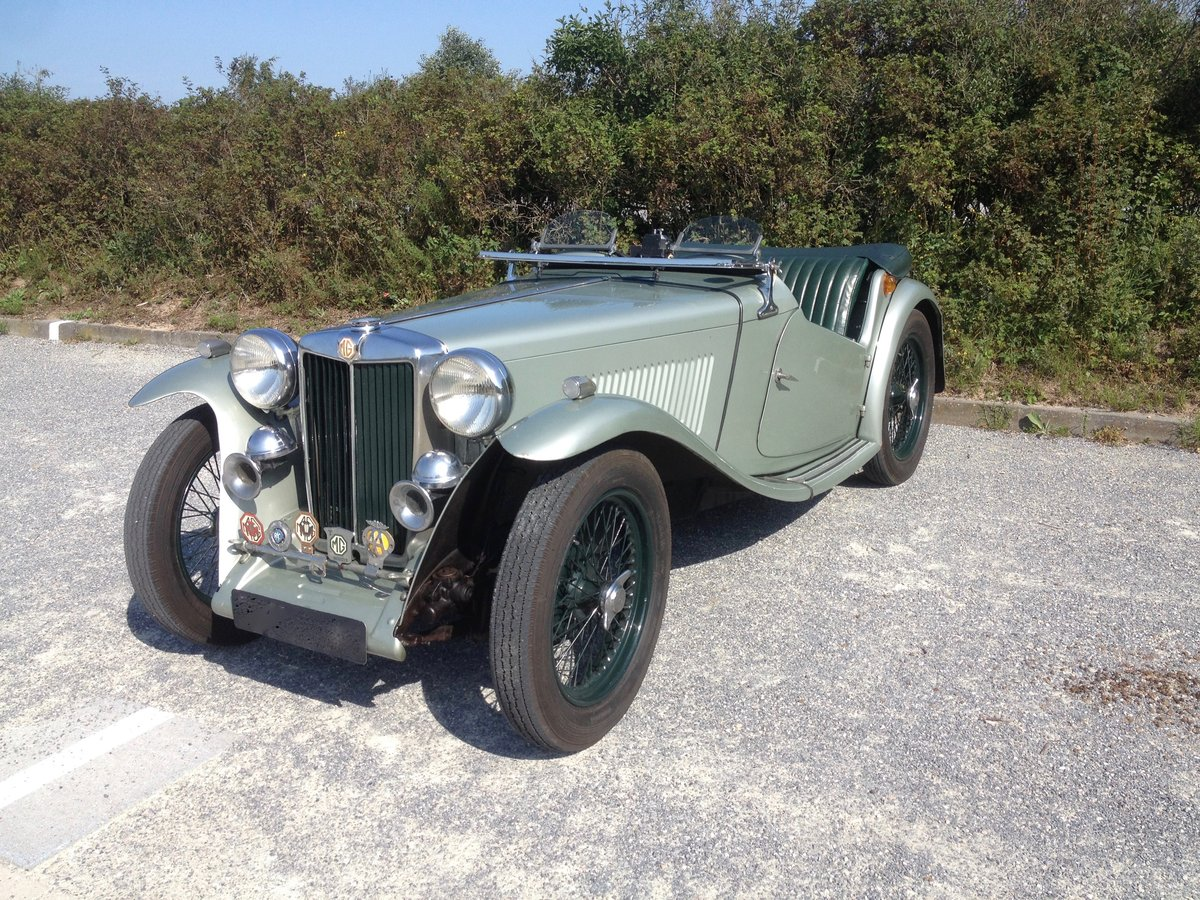 1947 MG TC - Older restoration For Sale (picture 4 of 6)