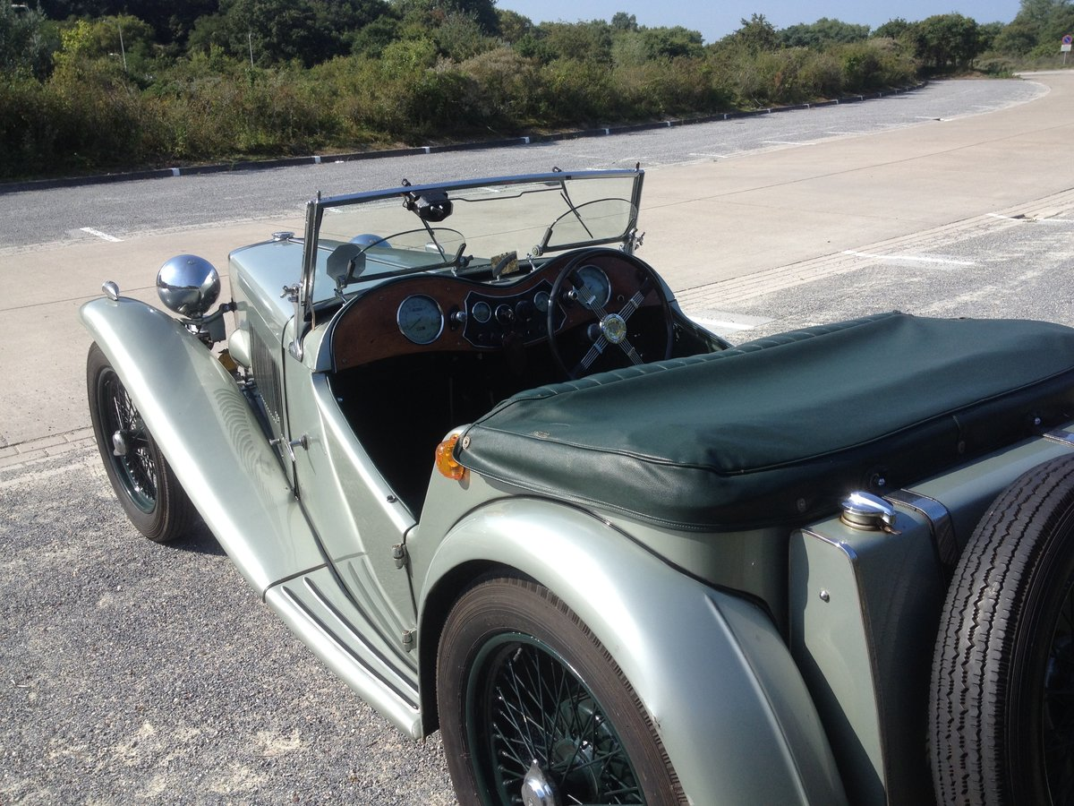 1947 MG TC - Older restoration For Sale (picture 5 of 6)