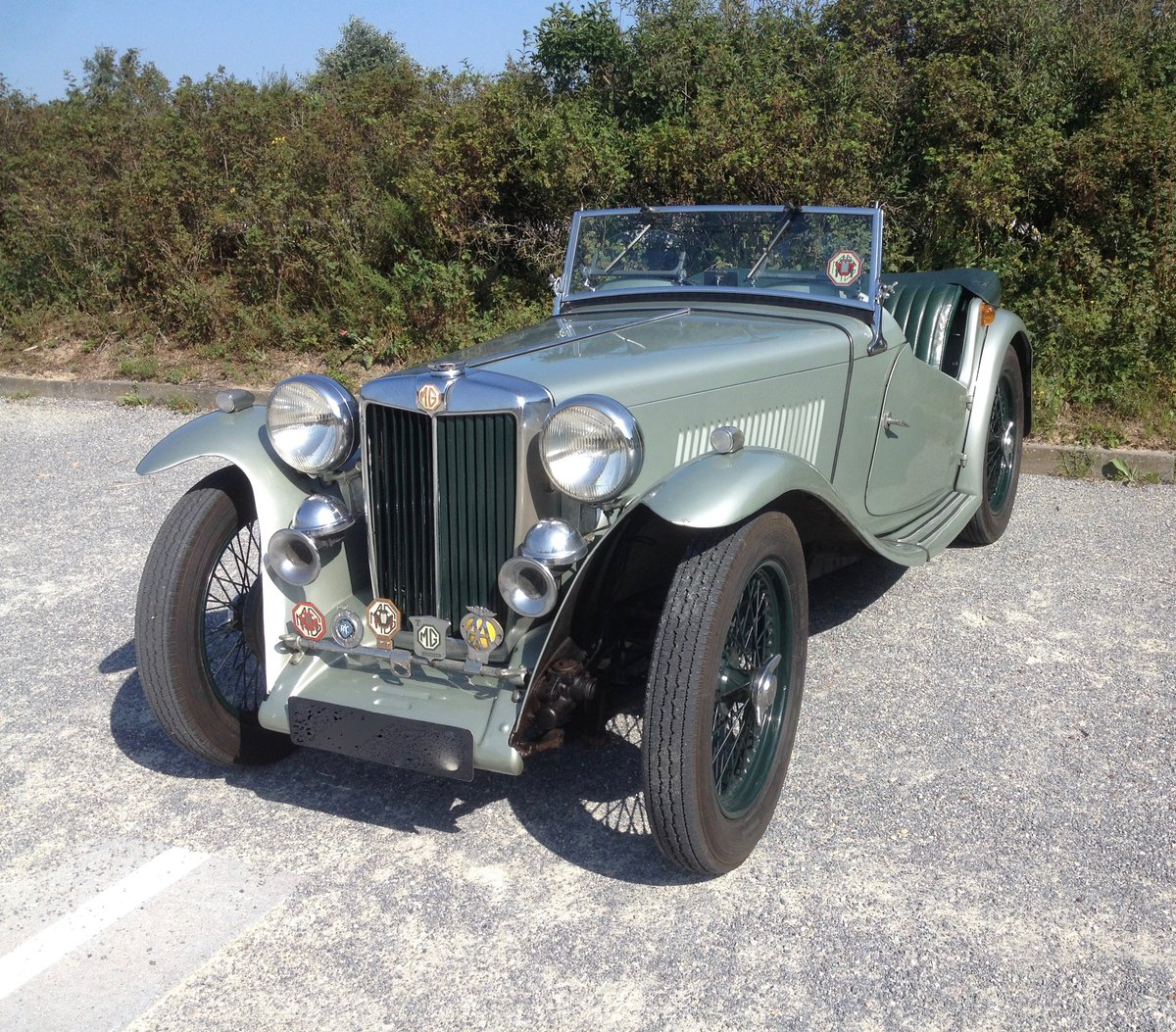1947 MG TC - Older restoration For Sale (picture 6 of 6)