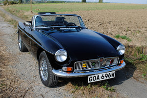 1980 MG-B SEC Turbo LHD For Sale