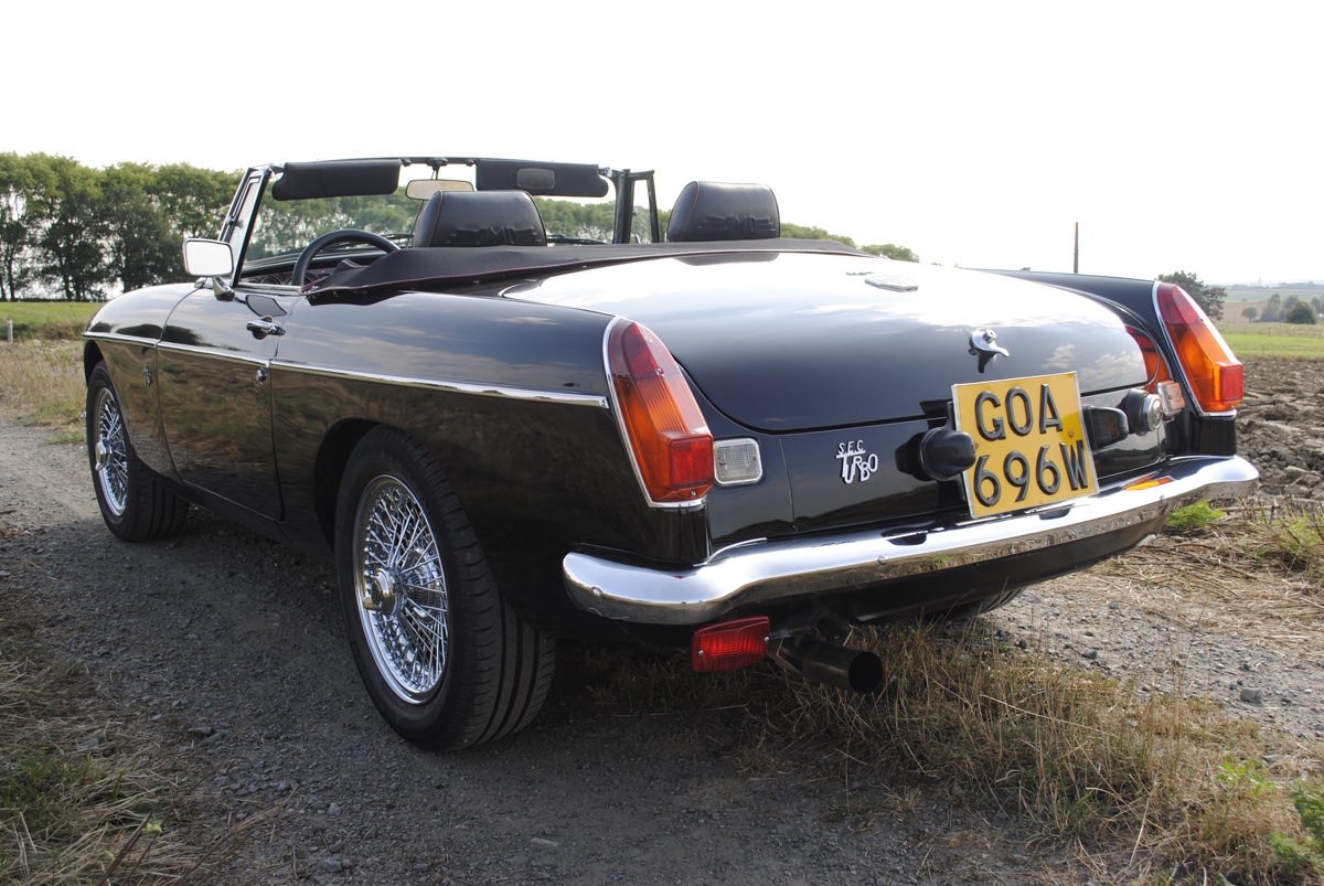 1980 MG-B SEC Turbo LHD For Sale (picture 2 of 6)