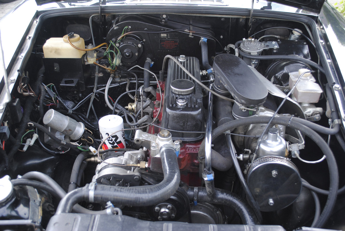 1980 MG-B SEC Turbo LHD For Sale (picture 3 of 6)