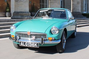 1971 MGB GT MKII - Restored with Heritage Bodyshell