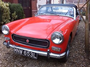 1972 MG Midget 1275 Round Wheel Arch Model