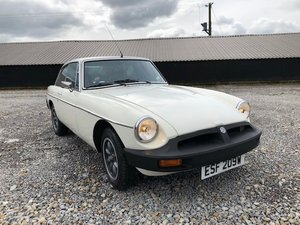 1981 MGB GT *Low Mileage* (ESF) SOLD