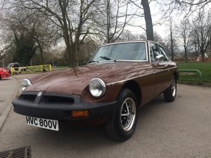 1979 MG BGT Sport 1.8 With History File For Sale
