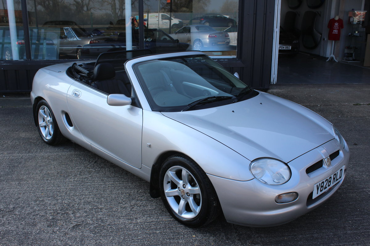 2001 MGF AUTO,ONLY 25000 MLS,FULL LEATHER,NEW HEADGASKET SOLD (picture 1 of 6)