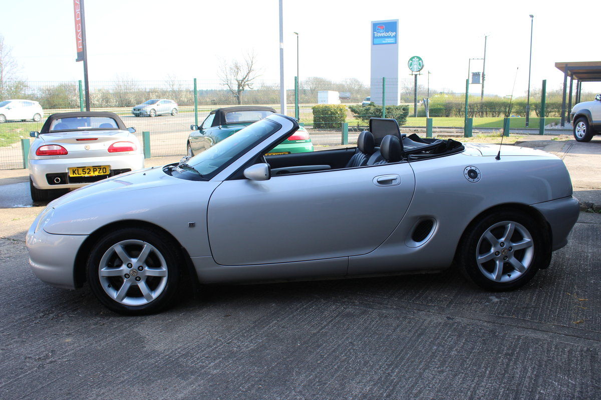 2001 MGF AUTO,ONLY 25000 MLS,FULL LEATHER,NEW HEADGASKET SOLD (picture 5 of 6)
