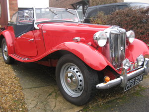 1951 MG TD MKII  (Chassis TDC 7134)  For Sale