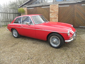 1969 MGC GT  Manual /Overdrive. Restored.