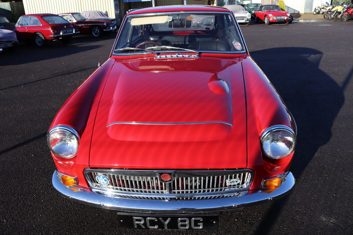 1969 MGC GT Fully rebuilt SOLD (picture 3 of 4)