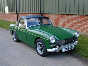 1969 MG MIDGET 1275 CHROME BUMPER - RESTORED - LAST OWNER 35 yrs+ For Sale