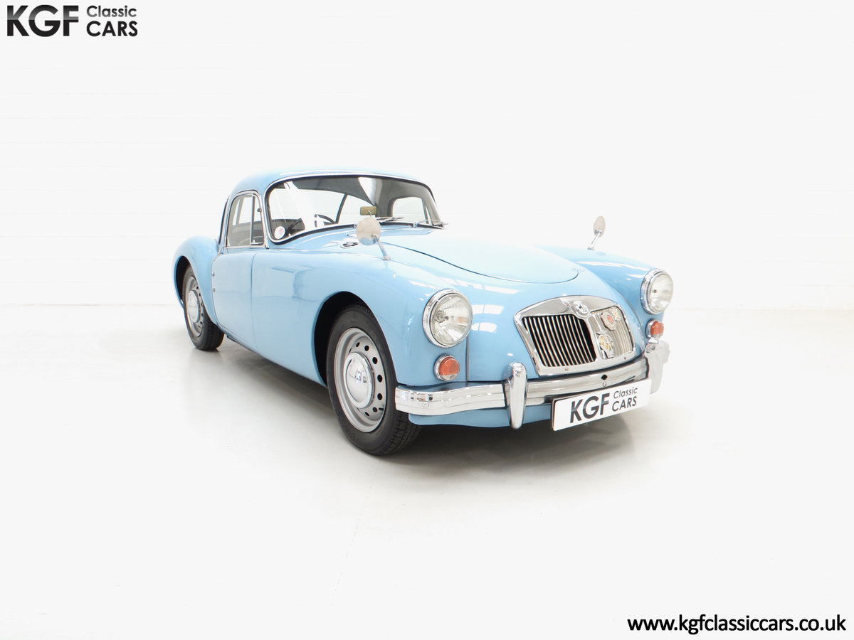1959 A Glorious UK Home Market RHD MGA 1600 Coupe SOLD (picture 1 of 6)