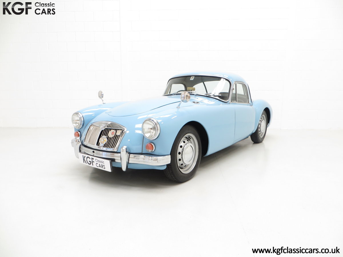 1959 A Glorious UK Home Market RHD MGA 1600 Coupe SOLD (picture 2 of 6)