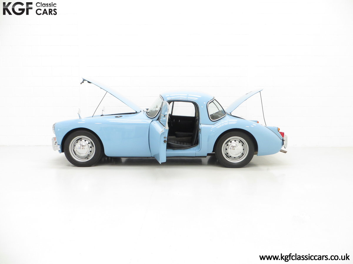1959 A Glorious UK Home Market RHD MGA 1600 Coupe SOLD (picture 3 of 6)