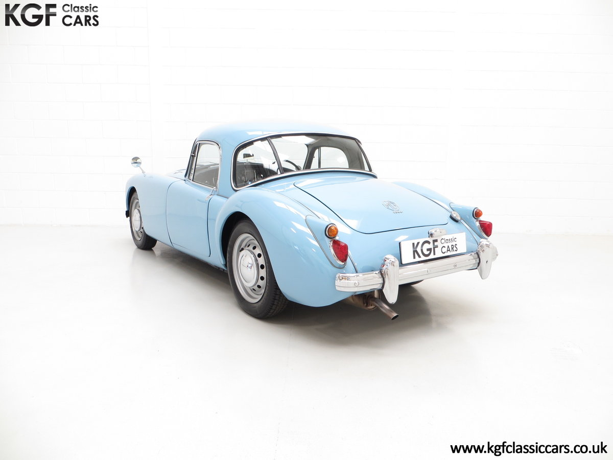 1959 A Glorious UK Home Market RHD MGA 1600 Coupe SOLD (picture 4 of 6)