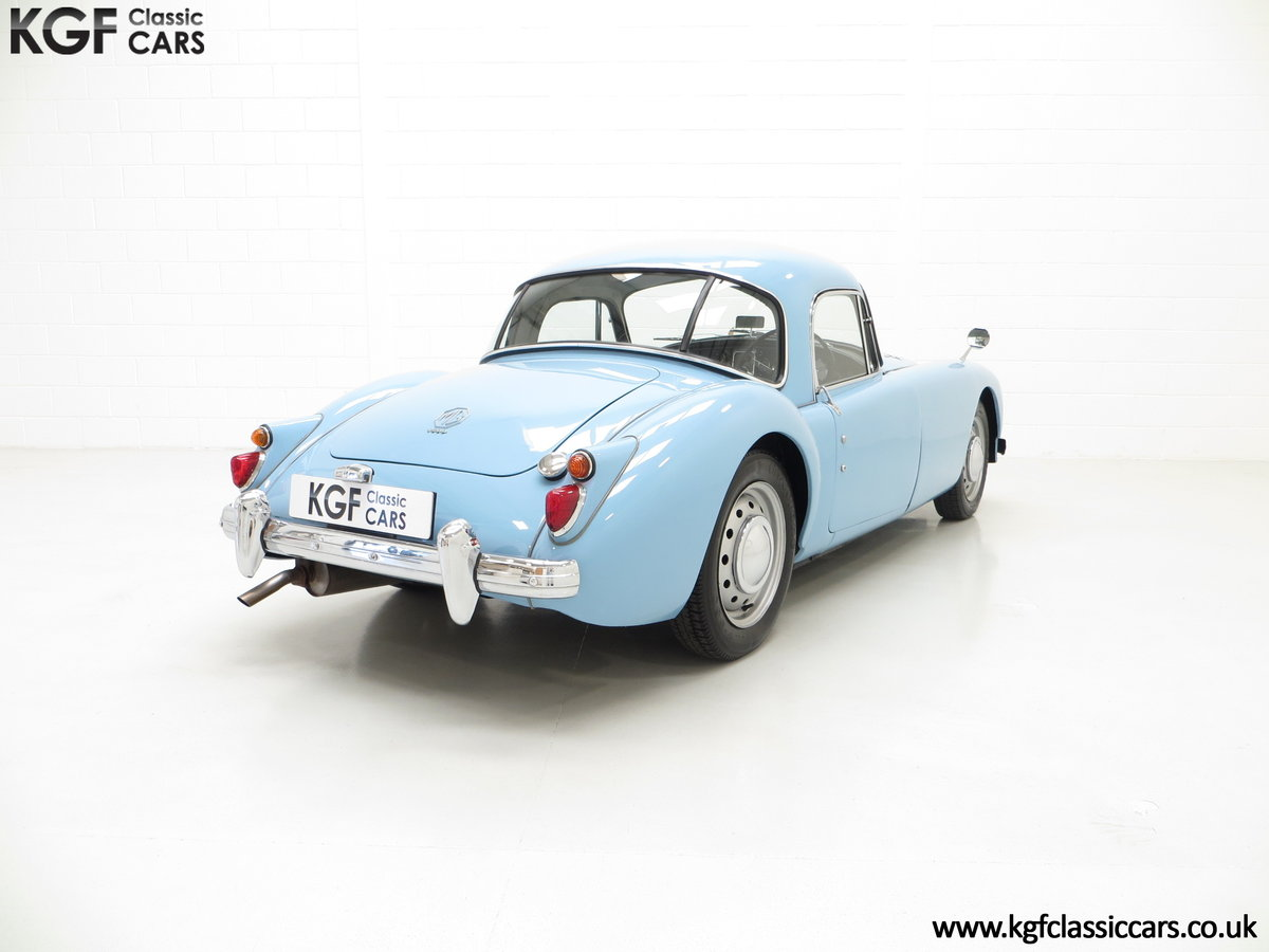 1959 A Glorious UK Home Market RHD MGA 1600 Coupe SOLD (picture 5 of 6)