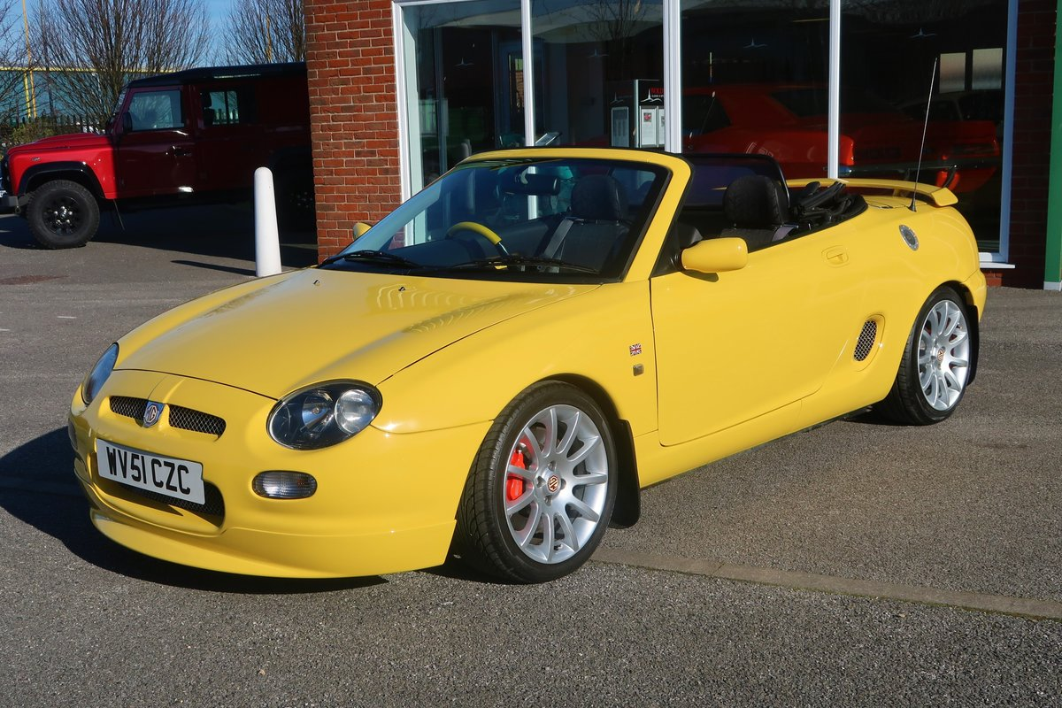 2001 MG MGF Trophy VVC 160 Convertible  SOLD (picture 1 of 6)