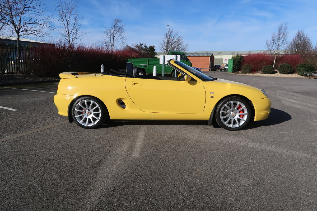 2001 MG MGF Trophy VVC 160 Convertible  SOLD (picture 2 of 6)
