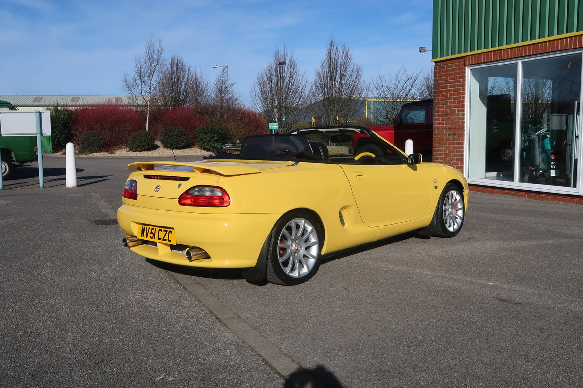 2001 MG MGF Trophy VVC 160 Convertible  SOLD (picture 3 of 6)