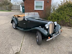 1951 MG TD in Green  SOLD