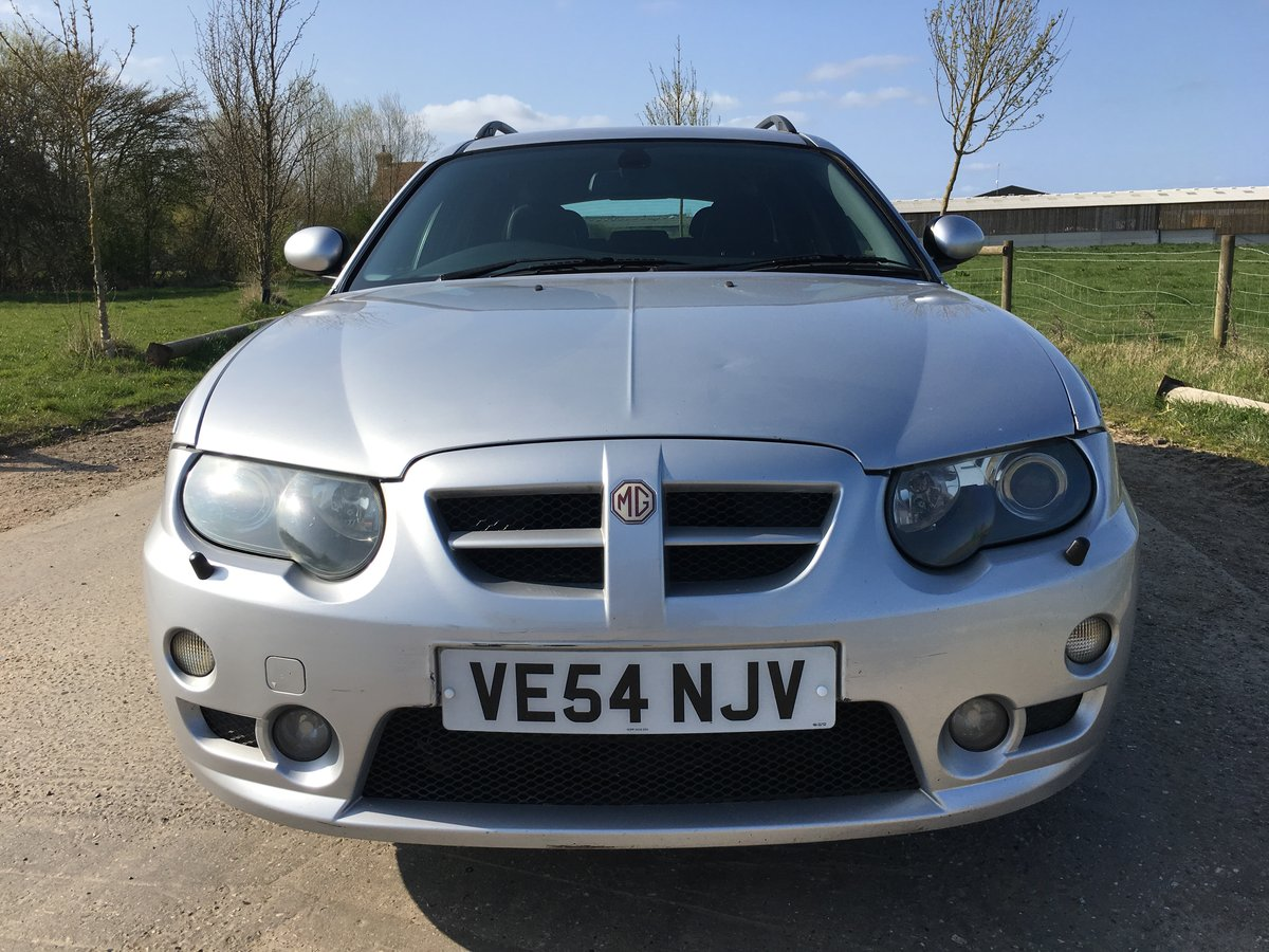 2004 (54) MG ZT-T 2.0 CDTi 135+ Starlight Silver For Sale (picture 1 of 6)