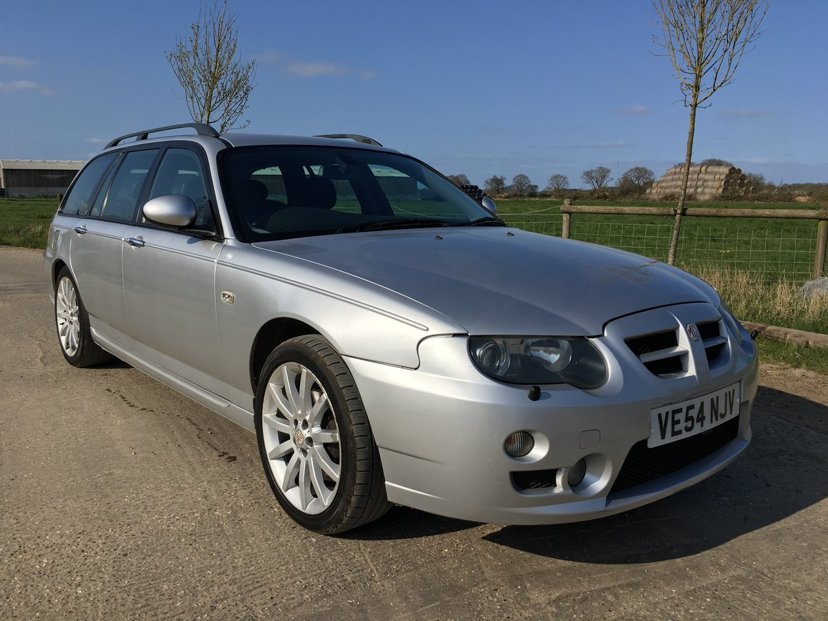 2004 (54) MG ZT-T 2.0 CDTi 135+ Starlight Silver For Sale (picture 2 of 6)
