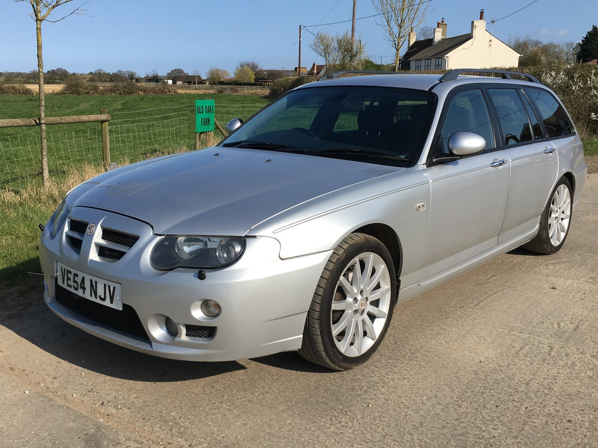 2004 (54) MG ZT-T 2.0 CDTi 135+ Starlight Silver For Sale (picture 6 of 6)