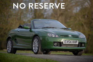2004 MG TF Sunstorm - Fully Restored - on The Market SOLD by Auction