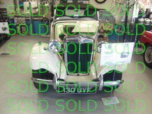 1952 MG TD Beatuiful Car For Sale