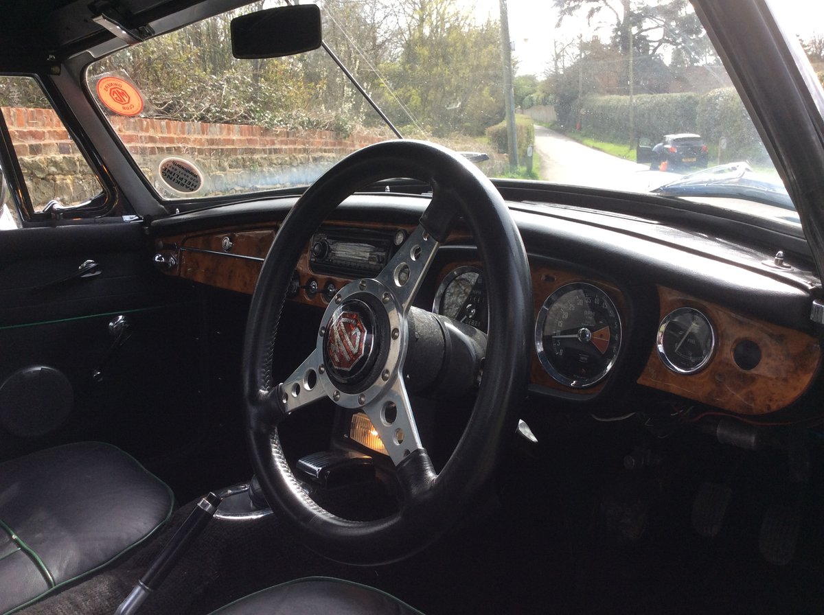 Superb Mk1 1967 MGB Roadster in  Racing Green For Sale (picture 3 of 6)