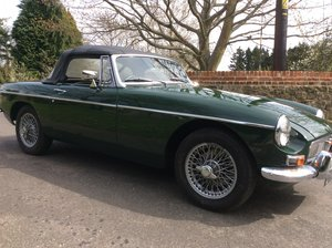 Stunning Mk1 1967 MGB Roadster in  Racing Green For Sale