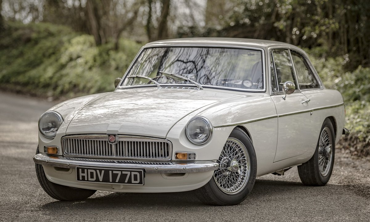 1966 FRONTLINE MGB LE50 - Stunning & Rare - on The Market SOLD by Auction (picture 1 of 6)