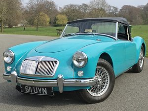 1957 MGA 1500 Roadster - Restored to an exceptional standard For Sale