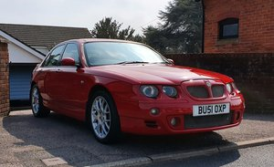 2001 MG ZT+ V6 160 in Solar Red, low mileage! For Sale