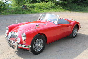 1960 Fully Restored Chariot Red MGA 1600cc Roadster For Sale