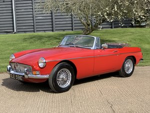 1967 MGB Roadster - price now reduced! For Sale