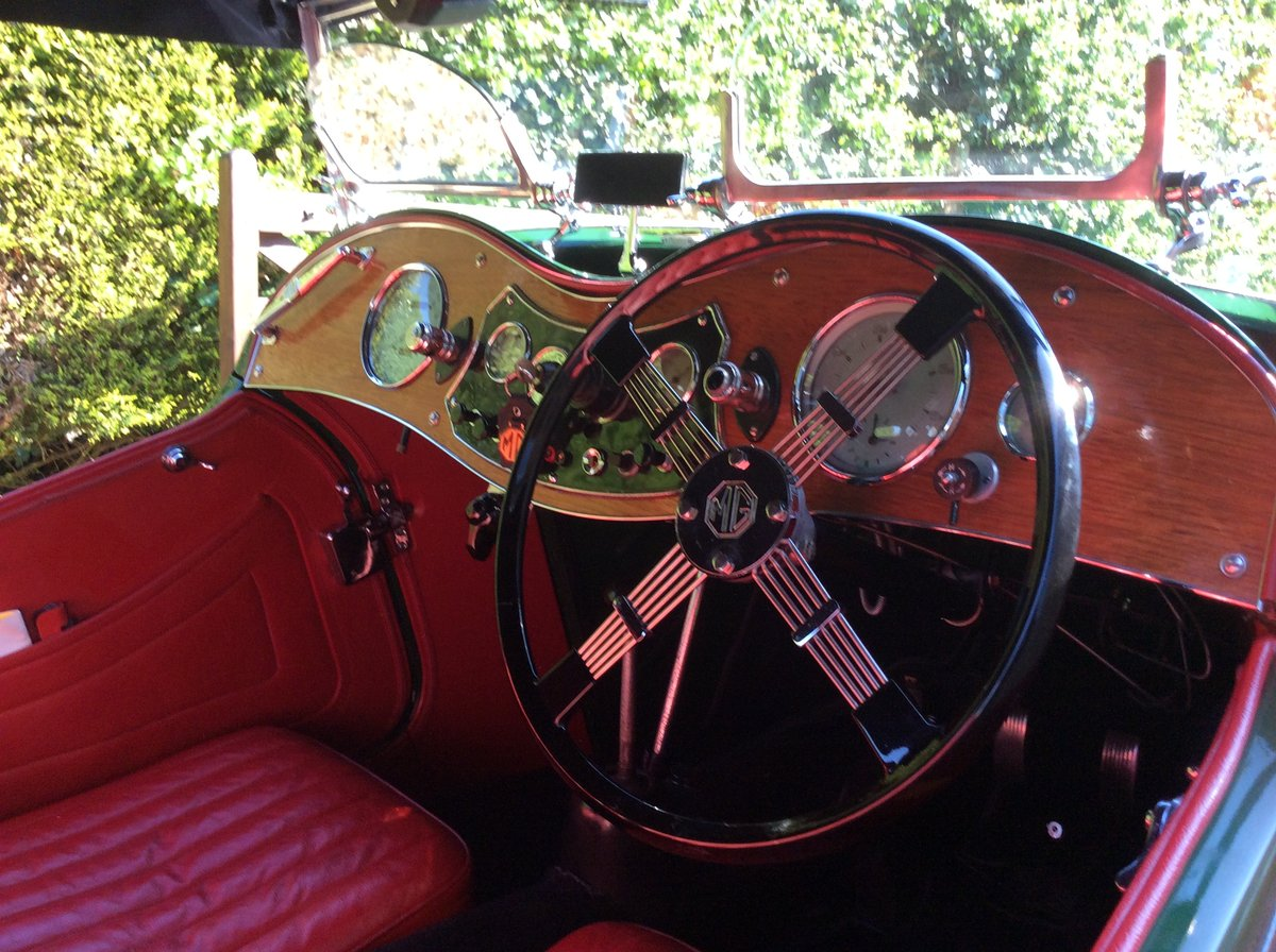 1936 MG TA Midget SOLD (picture 4 of 6)