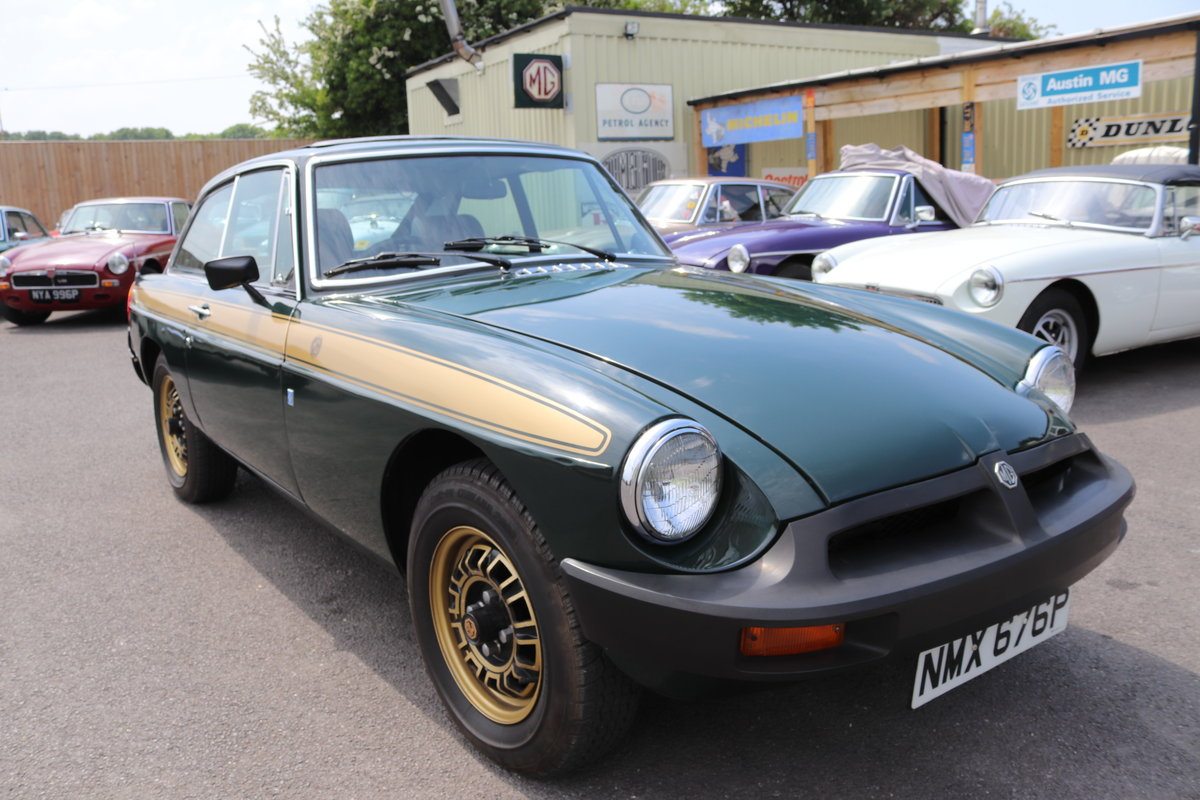1975 MGB GT Jubilee model, Fully restored,Full sunroof SOLD (picture 1 of 6)