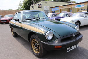 1975 MGB GT Jubilee model, Fully restored,Full sunroof For Sale